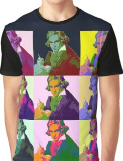 Ludwig Van Beethoven (1712-73) Graphic T-Shirt