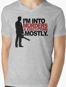 So what do you do? Mens V-Neck T-Shirt