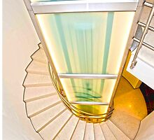 Spiral Staircase by aurielaki