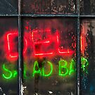 NYC Neon Deli Salad Bar by Cvail73