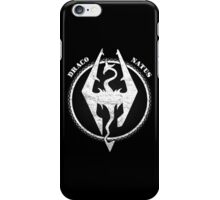 Skyrim | Draco natus iPhone Case/Skin