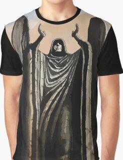 Skyrim angel statue painting Graphic T-Shirt