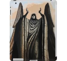 Skyrim angel statue painting iPad Case/Skin