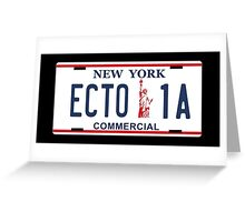 Ghostbusters - ECTO1  Greeting Card