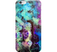 Abstract stencilled pattern  iPhone Case/Skin