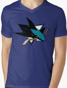 Sharks Mens V-Neck T-Shirt