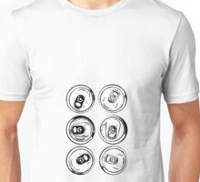 Yes, I have a sixpack. Unisex T-Shirt