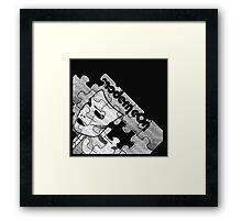 Modern Eon - Pieces Framed Print