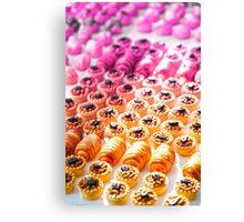 Pink Bakery Texture Canvas Print