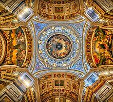 Saint Isaac's Cathedral - Исаа́киевский Собо́р, St Petersburg by Wendy  Rauw