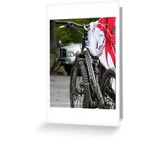 Laundry by Bike  Greeting Card