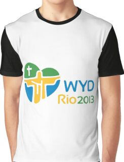 World Youth Day 2013 in Rio logo Graphic T-Shirt