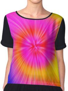 TIE DYE (Rainbow)-(8400 x 8400 px) Chiffon Top