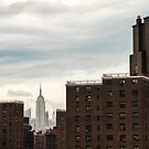 NYC - Chrysler between bricks by Cvail73