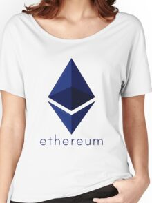 Ethereum Blue  Women's Relaxed Fit T-Shirt