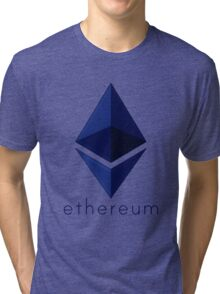Ethereum Blue  Tri-blend T-Shirt