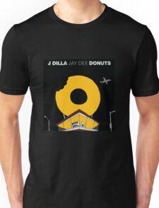 J Dilla - Donuts Album Cover Unisex T-Shirt
