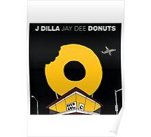 J Dilla - Donuts Album Cover Poster