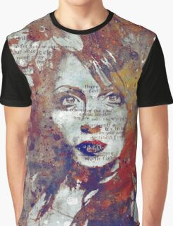 Farewell, Mona Lisa: Autumn Graphic T-Shirt