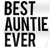 Best Auntie Poster