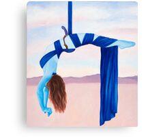 "Balance, original acrylic painting, 38""x34"" Canvas Print"