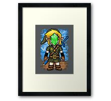 Son of Hyrule Framed Print