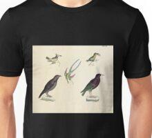 Naturgeschichte in Bildern mit erläuterndem Text E Strack 1820 Lief 2 Birds 047 Unisex T-Shirt