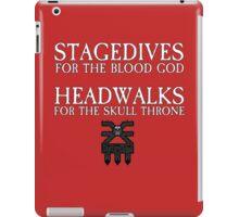 Stagedives for Khorne iPad Case/Skin