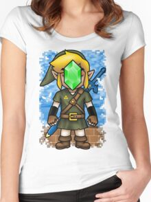 Son of Hyrule Women's Fitted Scoop T-Shirt