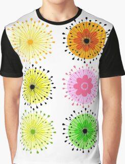 Flowers in Wonderland Graphic T-Shirt