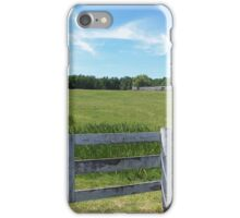 Spring on the Farm iPhone Case/Skin