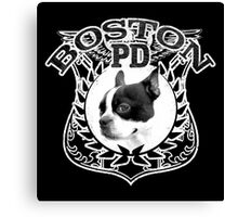 Boston PD Canvas Print