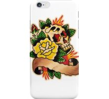 Spitshading 041 iPhone Case/Skin