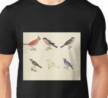 Naturgeschichte in Bildern mit erläuterndem Text E Strack 1820 Lief 2 Birds 066 Unisex T-Shirt