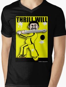 Thrill Will Mens V-Neck T-Shirt