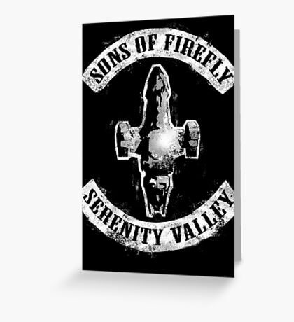 Sons of Firefly Greeting Card