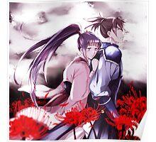 Ayame x Kurusu Poster
