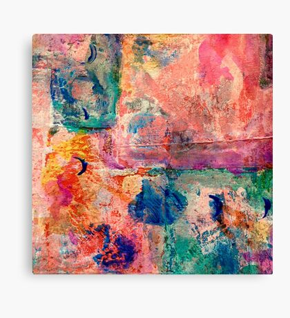 Abstract patchwork #3 Canvas Print