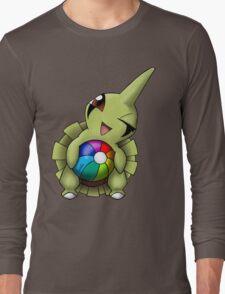 Larvitar Beach Ball Long Sleeve T-Shirt