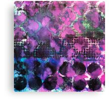 Abstract stencilled pattern #2 Canvas Print