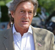 Nigel Havers at RHS Chelsea Flower Show by Keith Larby