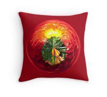 Fire Globe Throw Pillow