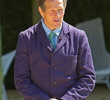Monty Don at RHS Chelsea Flower Show by Keith Larby