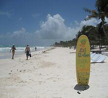 Beach Bar, Tulum, Mexico by JCMM