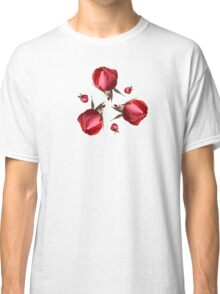 Red Rose Buds Classic T-Shirt