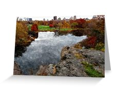 Central Park Water color Greeting Card