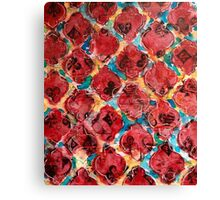 Deck of cards abstract Canvas Print