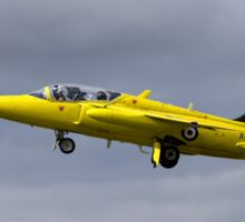 Folland Gnat T.1 - XR992/G-MOUR Sticker