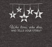 Musical T-shirt - Who lives Who Dies Who tells your Story  Unisex T-Shirt