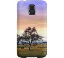 Old tree and amazing cloudy sky | landscape photography Samsung Galaxy Case/Skin
